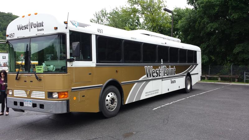 West Point Tours Bus
