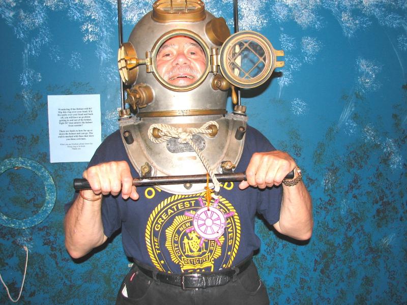 Underwater Ron