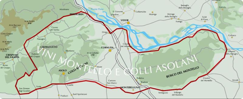 MappaMontelloColliAsolani