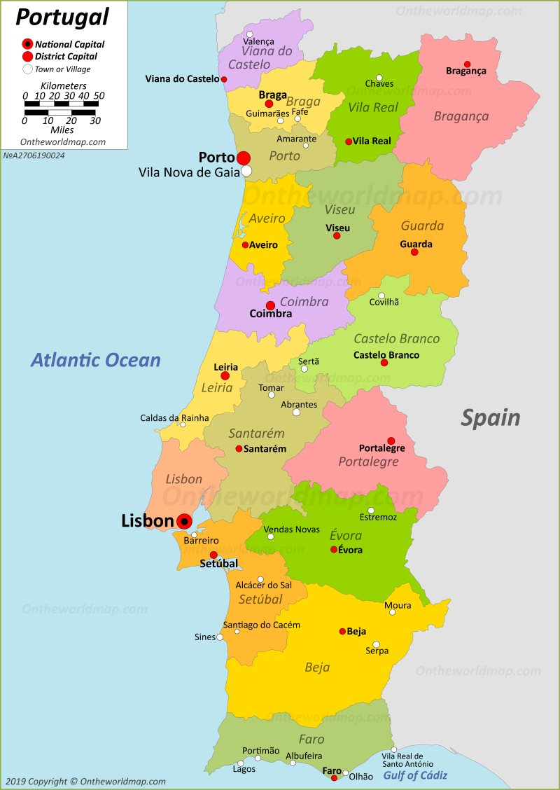 Map-of-portugal