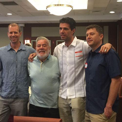 Mark, Steve, Sandro & Ron