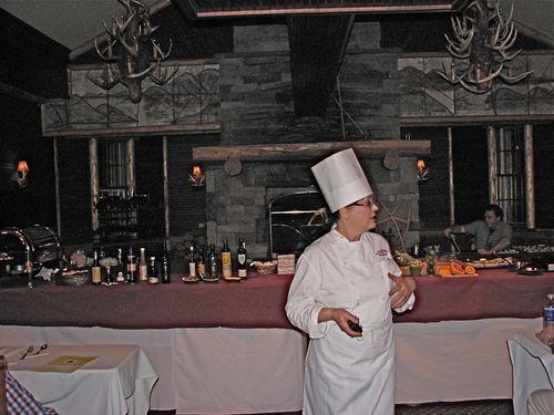 Chef Louise Duhamel- Olive Oil & Food Demo