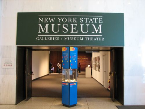 Entrance NY State Museum