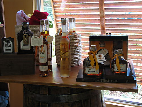 Selection of Pyrat Rums