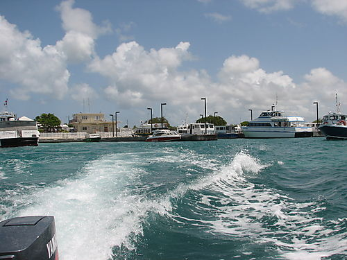 Leaving Anguilla's- Blowing Hole