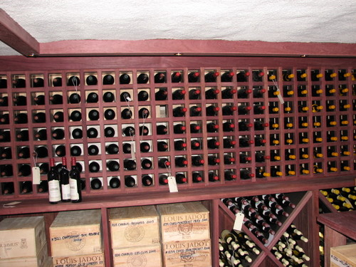 Wine Cellar Curtain Bluff