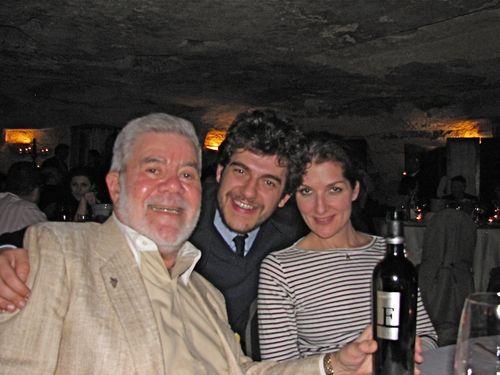 Jennifer, Winemaker & Ron