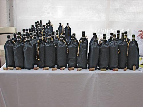 38 Wines Tasted Blind