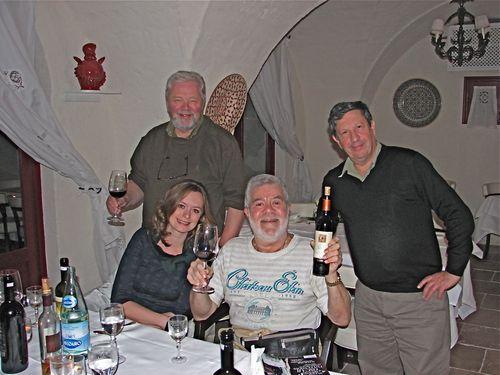 Jorgen, Michelle, Steven & Ron