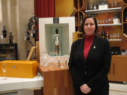 Anjoleena at Borgata Wine Shop