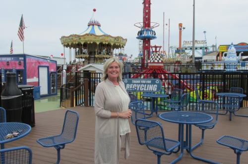 Sharon Franz Steel Pier