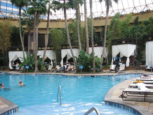 Pool at Harrahs