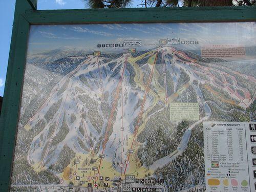 Big Bear Lake Ski Trails