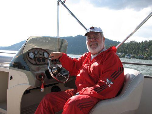 Ron Driving On Big Bear Lake
