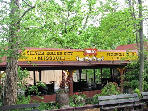 Silver Dollar City Train Station