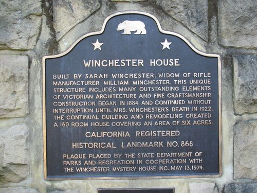 San Jose- Winchester Mystery House