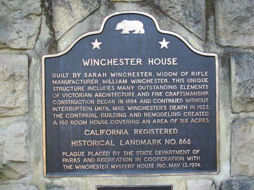 San Jose- Winchester Mystery House