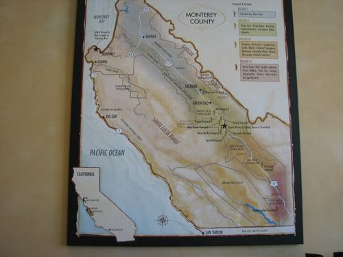 Monterey County Wine Regions
