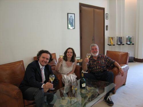 Pierre-Emmanuel, Vitalie Taittinger & Ron