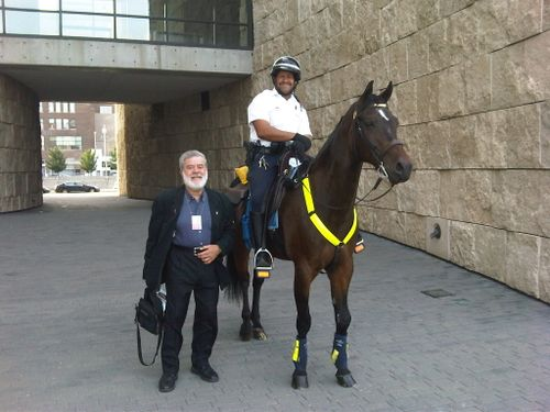 Mounted Cop