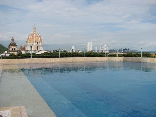 Charleston Santa Teresa Rooftop Pool- Cartagena