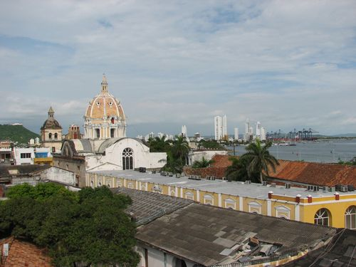 View of Cartagena From Hotel Roof