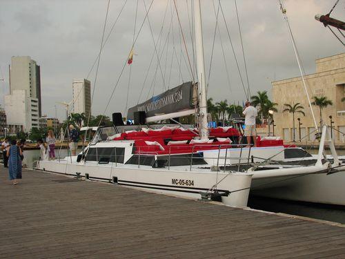 Catamaran Tour of Cartagena Harbor