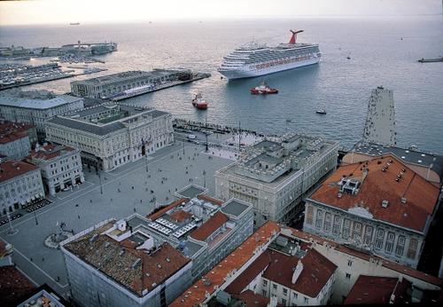 Trieste Piazza Unita