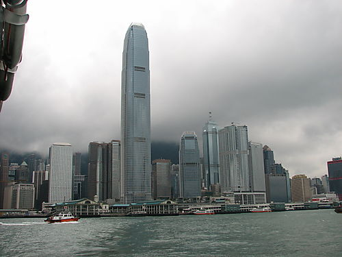 HK Island From Ferry
