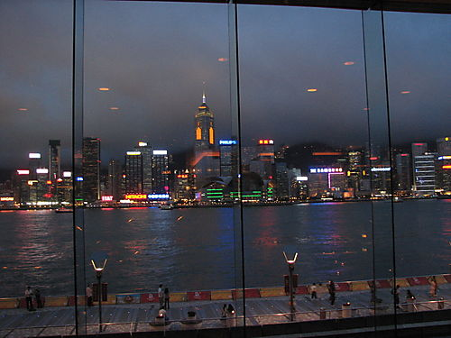 View of HK Island From Intercontinetal