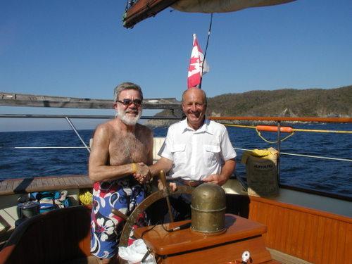 Ron & Capt