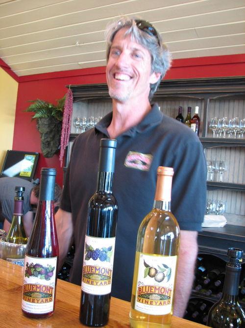 Bob Rupy- Winemaker Bluemont Vineyard