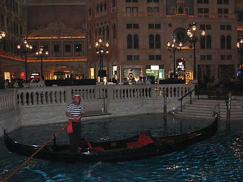 Gondola Ride- Venetian