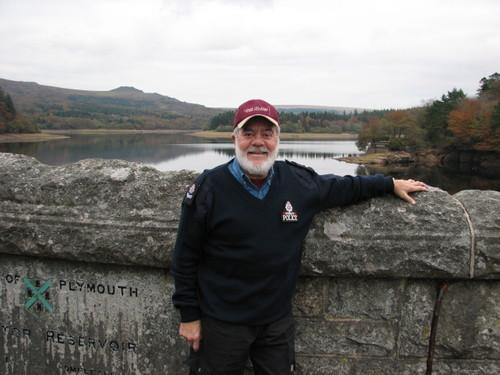 Ron at Plymouth Lake