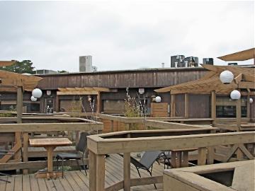 Deck at Cultured Pearl Restaurant