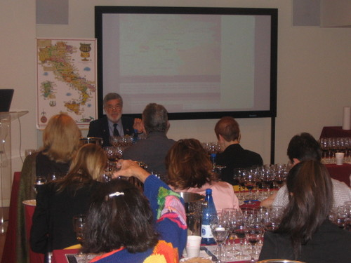 Italian Trade Commission Tasters