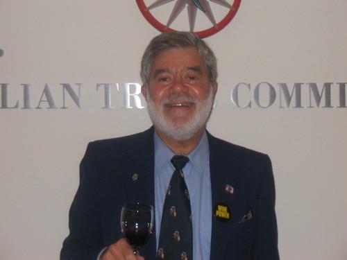 Ron at Italian Trade Commission Tasting