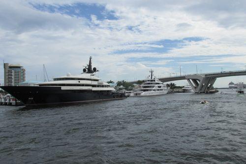 Steven Spielberg's Yacht