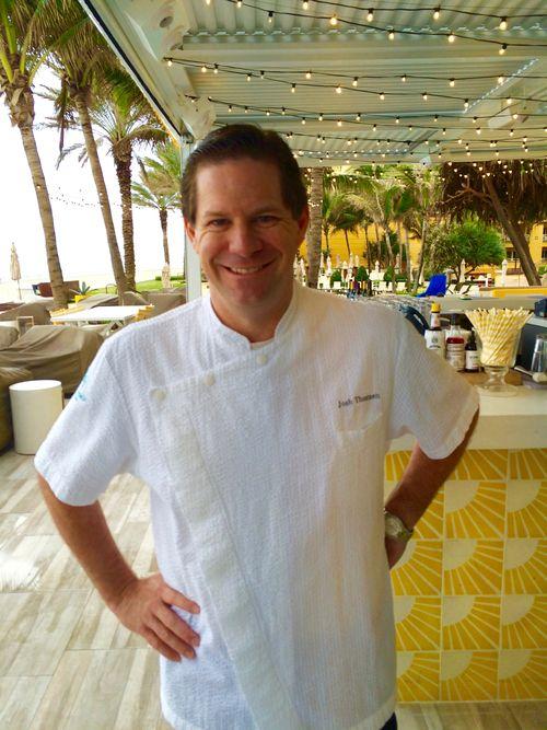 Chef Josh Thomsen Eau Resort